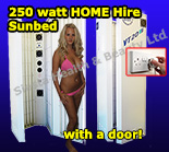 250watt sunbeds for home hire in Coventry